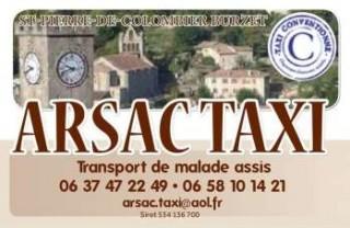 Taxi Arsac Desvideaux