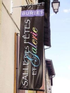 La salle des fêtes de Burzet