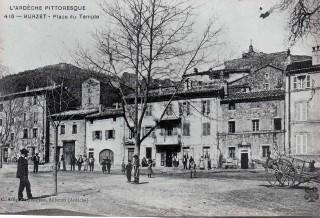 Images d'archive sur Burzet et ses habitants